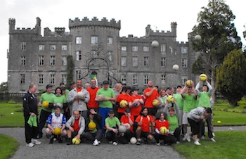 Corporate team building activity in Ireland