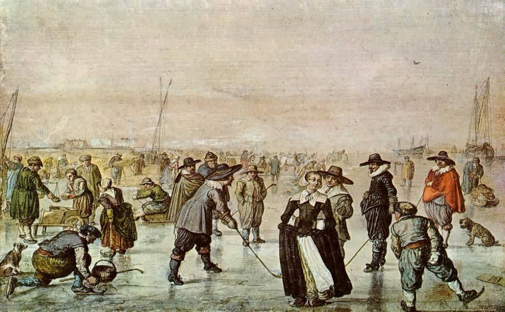 1500s Bandy - Hurling on Ice!