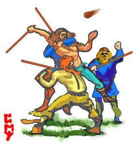 Vikings Playing Knattleikr