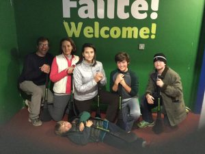 family fun at Experience Gaelic Games